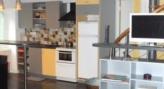 Le gite dispose d'une cuisine tout équipée