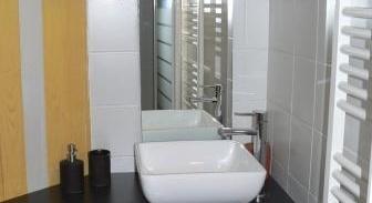 La salle de bains des deux chambres du gite