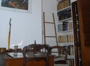 Chambre Ayuthaya - coin bureau sous vélux