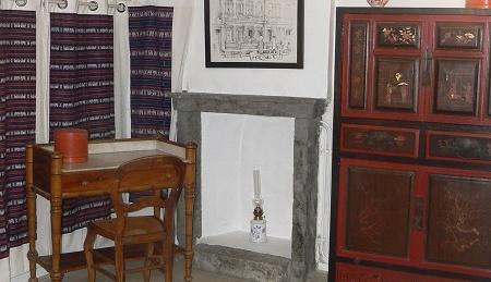 Chambre dhotes Nongkai - armoire chinoise