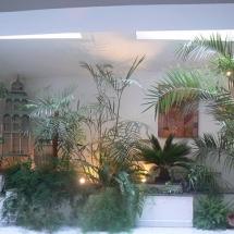 Jardin intérieur de la chambre hotes