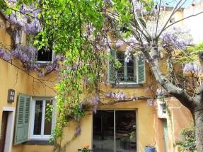 Le Petit Siam- façade sur patio