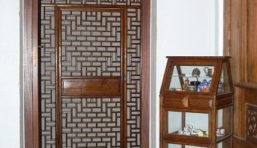 espaces intérieurs - vers la chambre Nong Khai