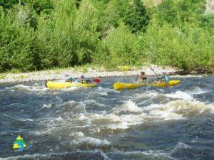 loisirs- Canoë - kayak en Auvergne
