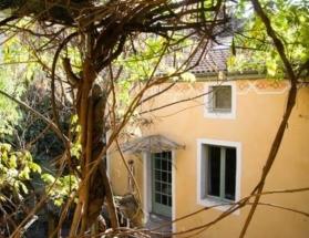 Terrasse privée de la chambre Phimai